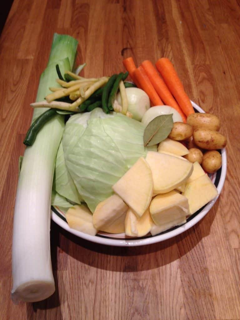 Recette de bouilli de boeuf et légumes (pot-au-feu)
