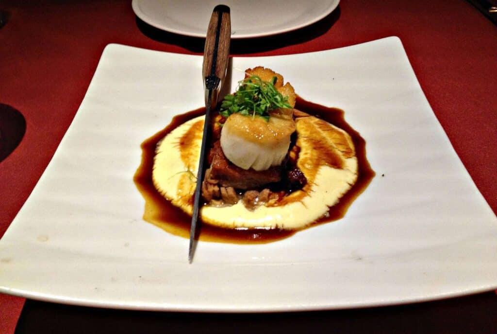 Pétoncle - restaurant Le Filet