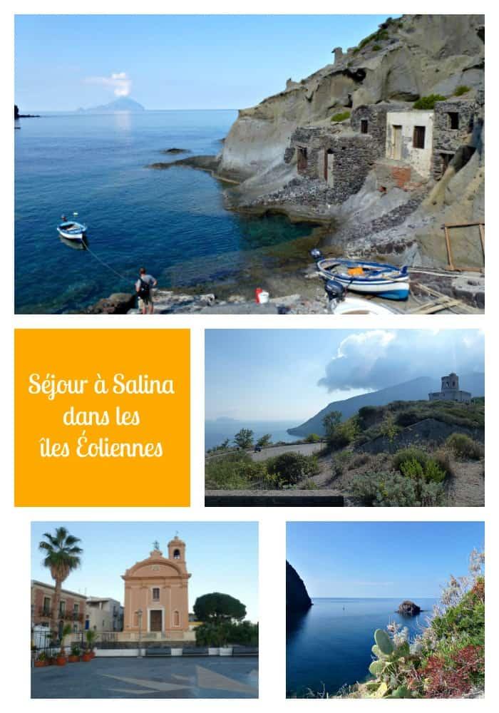 Séjour à Salina dans les Iles Éoliennes - Sicile