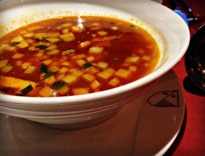 Soupe de poisson - restaurant Le Filet