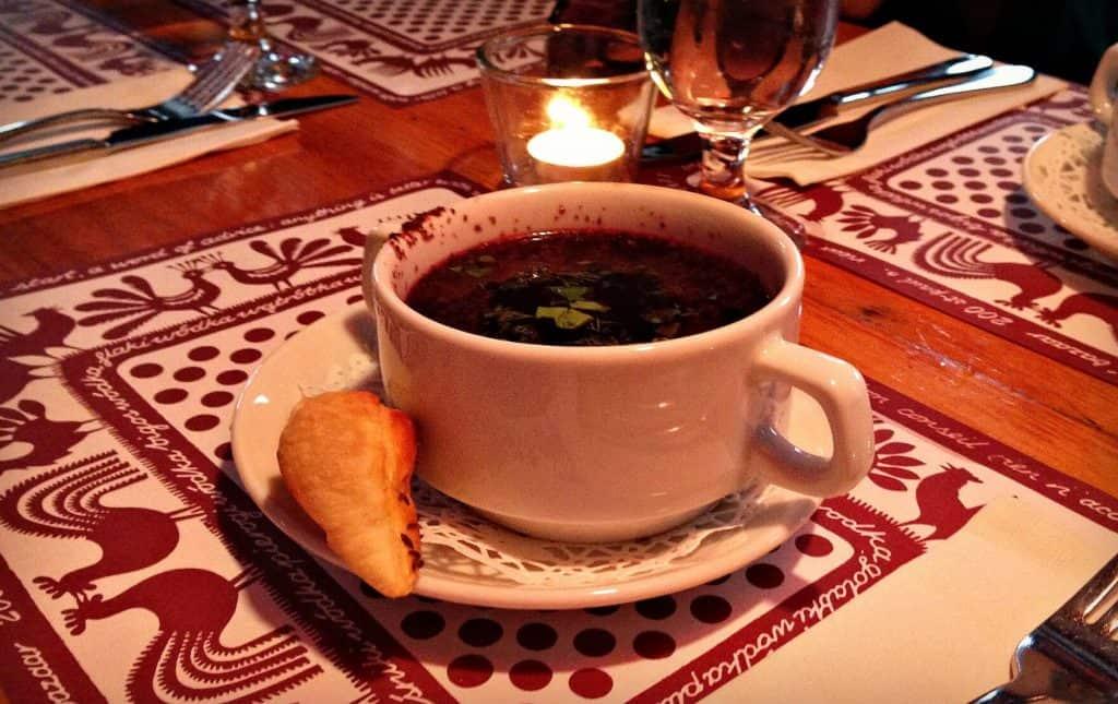 Soupe de betterave - barszcz - Stash Café