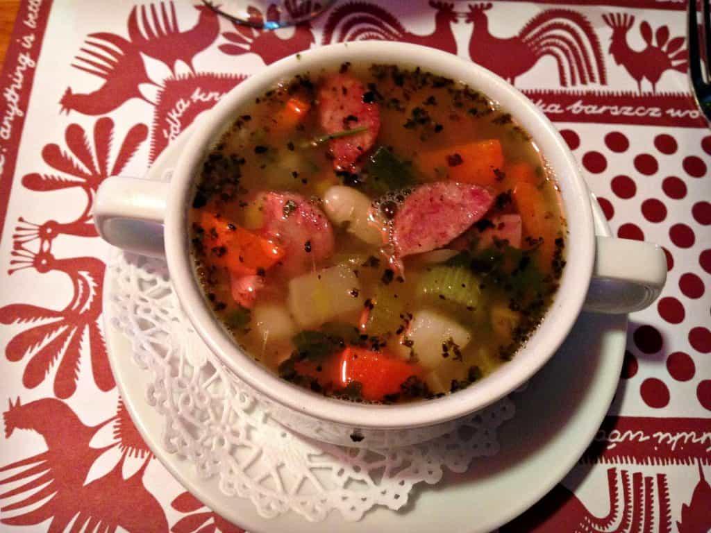 Soupe aux légumes - Stash Café