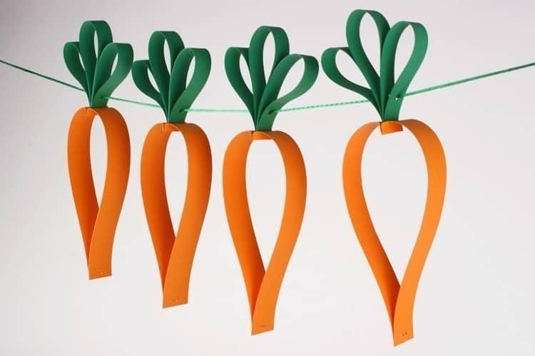 Guirlandes de carottes