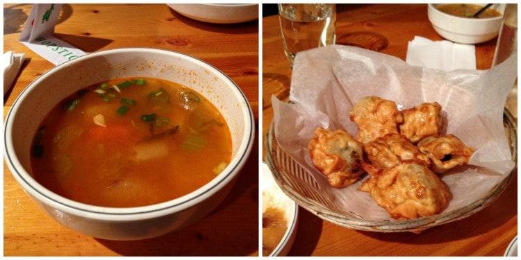 Soupe et dumplings - Restaurant Chez Bong - Montréal