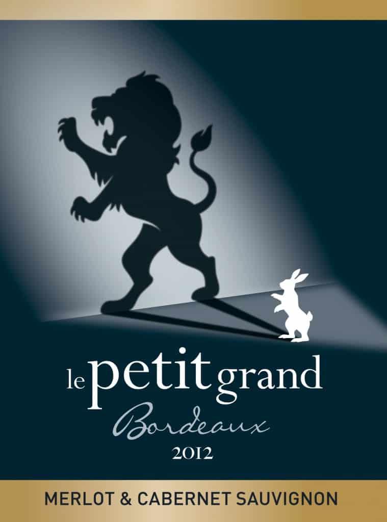 Etiquette Le petit grand Bordeaux