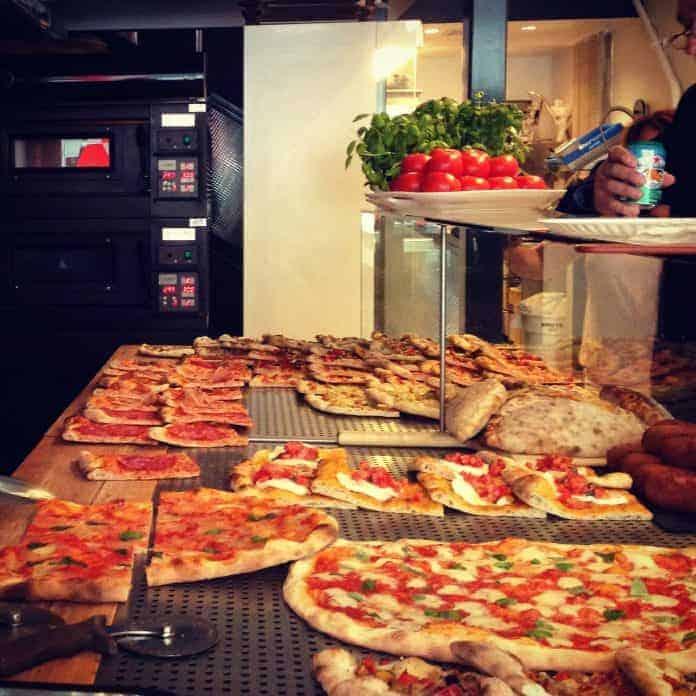 Comptoir de pizzas