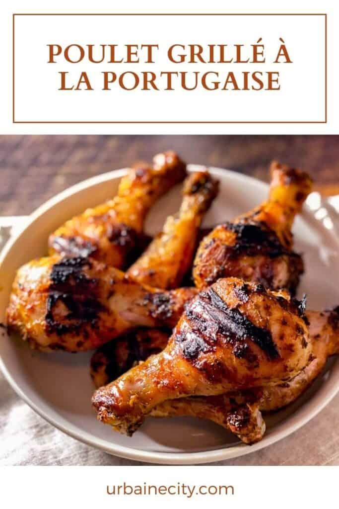Recette de poulet à la portugaise