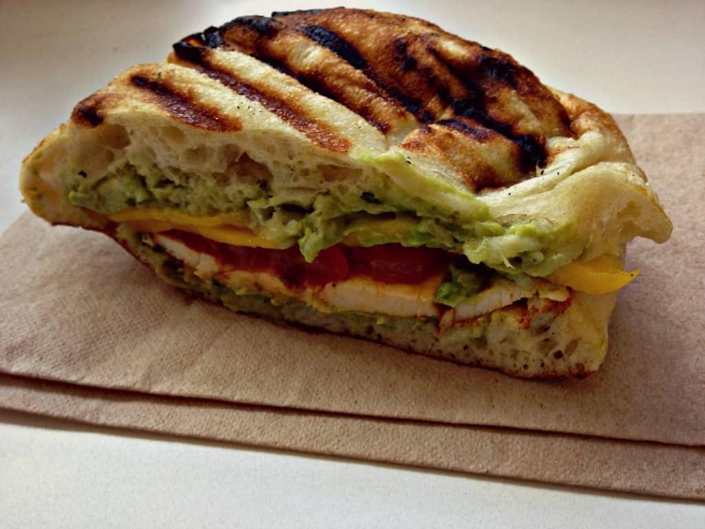 Sandwich poulet de grain