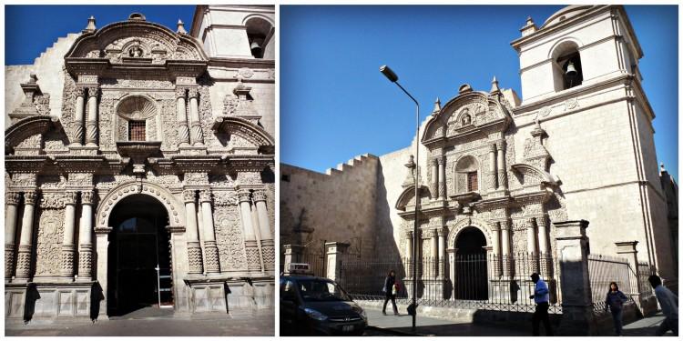 Une des nombreuses églises de la ville, l'église San Agustin