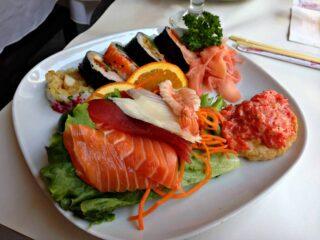 Maki et sashimi