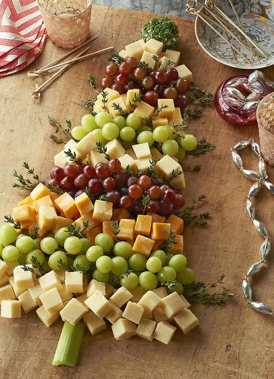 sapin de fromages - Idee De Deco Pour Noel