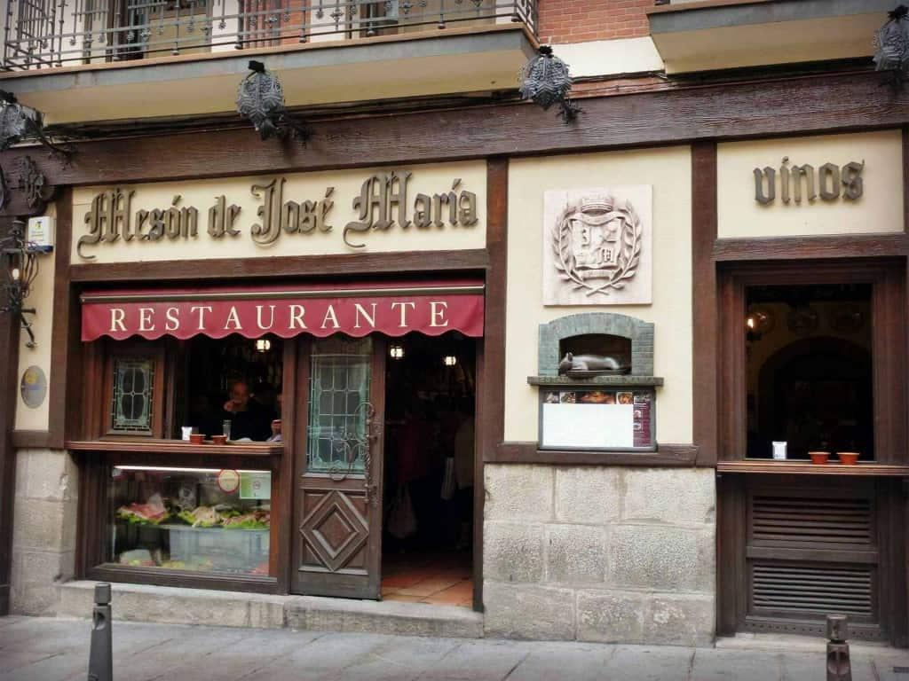 Restaurant José Maria, Segovie