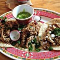 Tacos Carnitas - La Capital Tacos - Chinatown, Montréal
