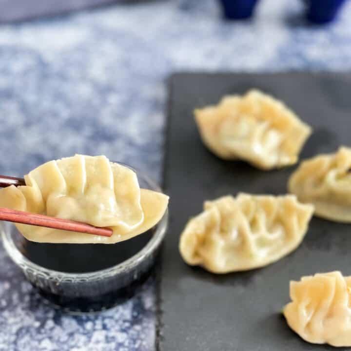 Dumplings cuits à la vapeur