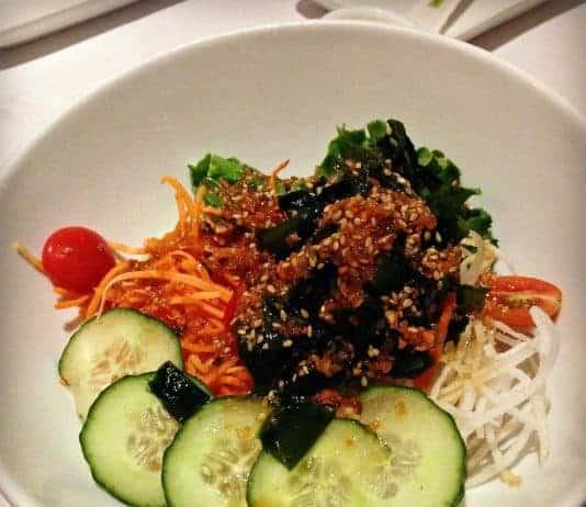 Salade algue - Mikado