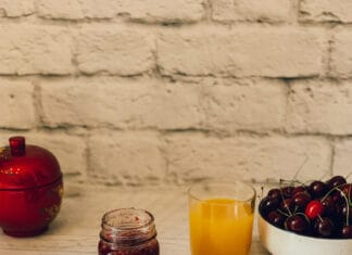 Confiture de fraises, framboises et érable