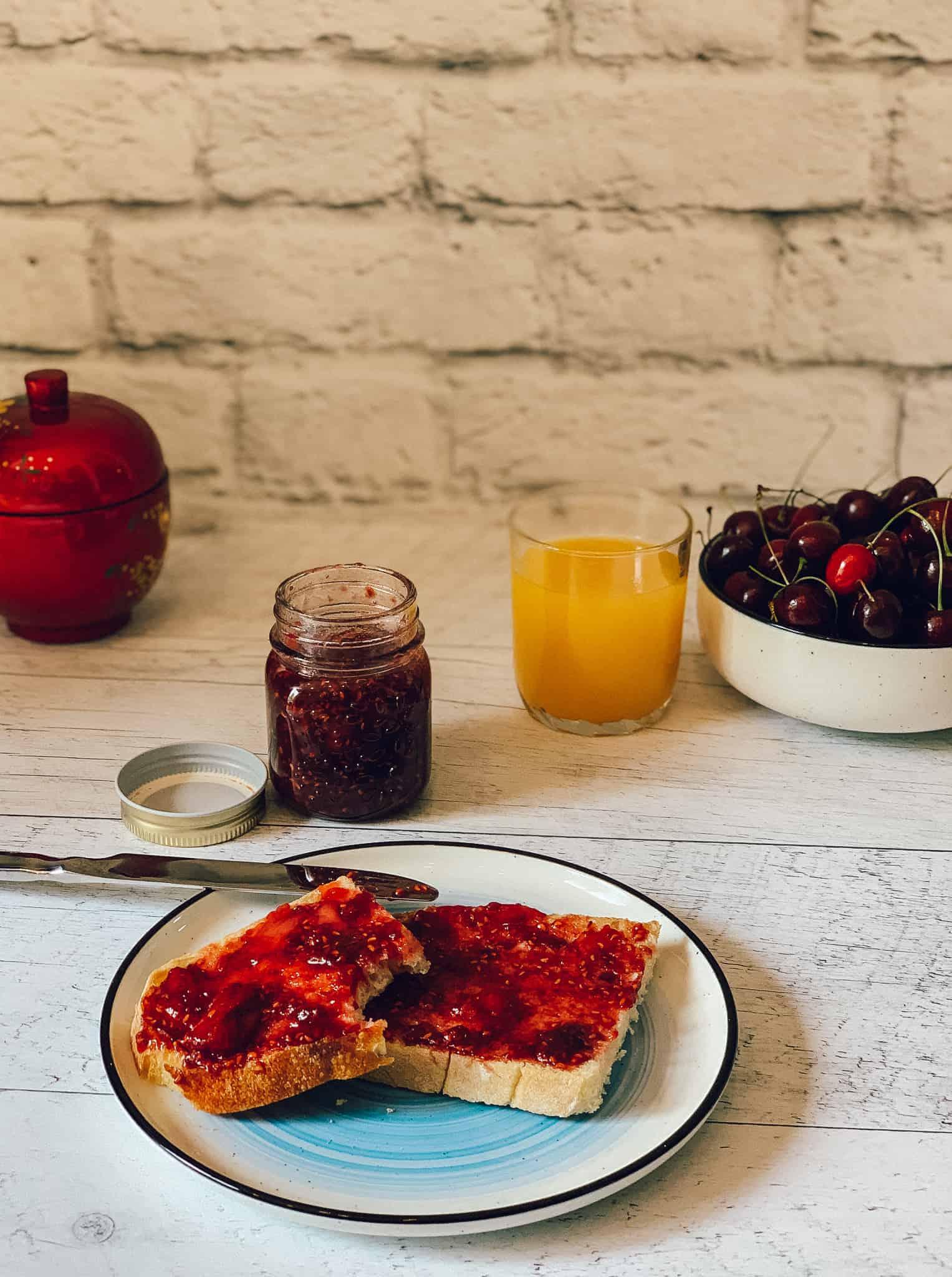 Recette de confiture de fraises, framboises et érable