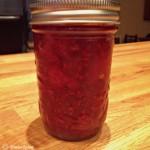 Recette de confiture de fraises, framboises et sucre d'érable