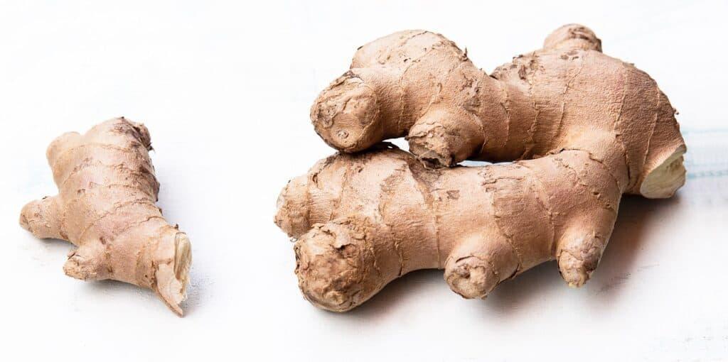 Conserver du gingembre