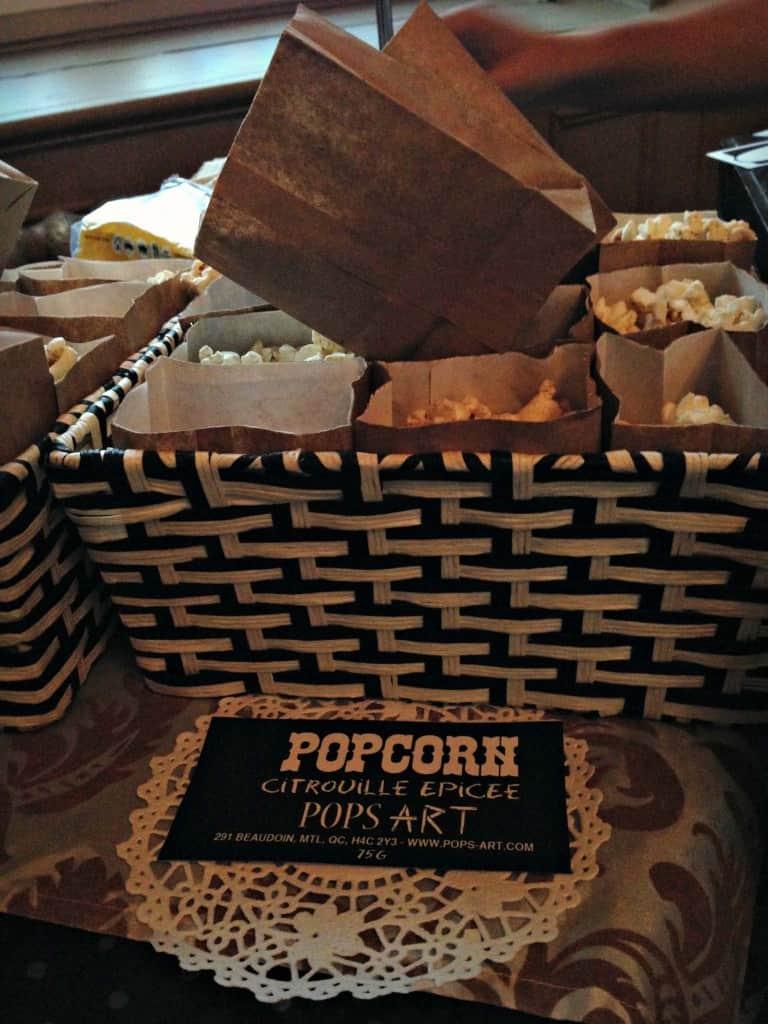 Popcorn à la citrouille - Pops Art