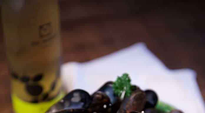Moules marinières au cidre