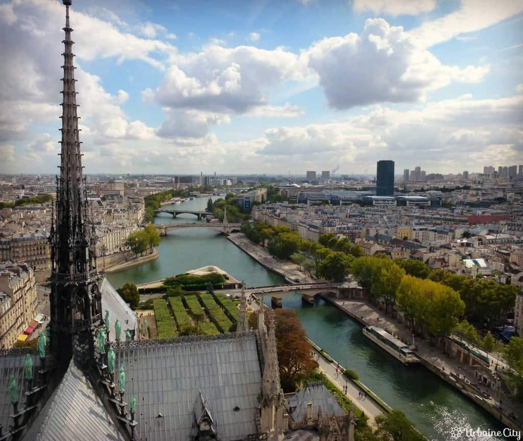 Vue sur la Seine - Paris
