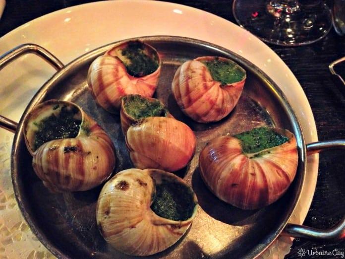Les escargots classiques - L'escargot Montorgueuil - Paris
