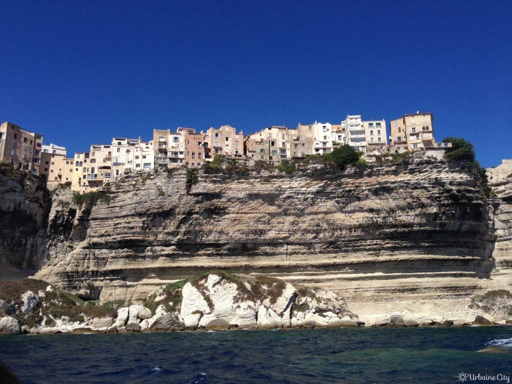 Boniffacio perchée sur sa falaise