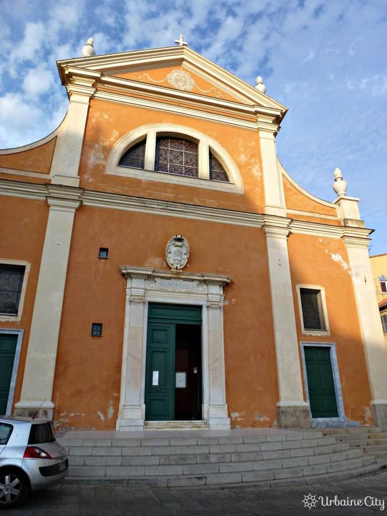 La cathédrale Santa Maria Assunta d'Ajaccio