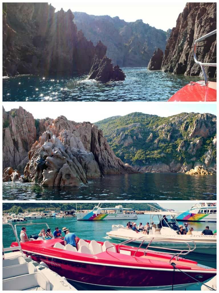 Excursion avec Corse Adrénaline pour visiter les calanques, Girolata et Scandola