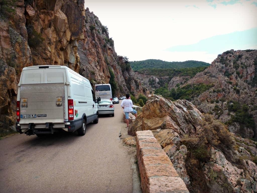 La route des calanques et quelques embouteillage