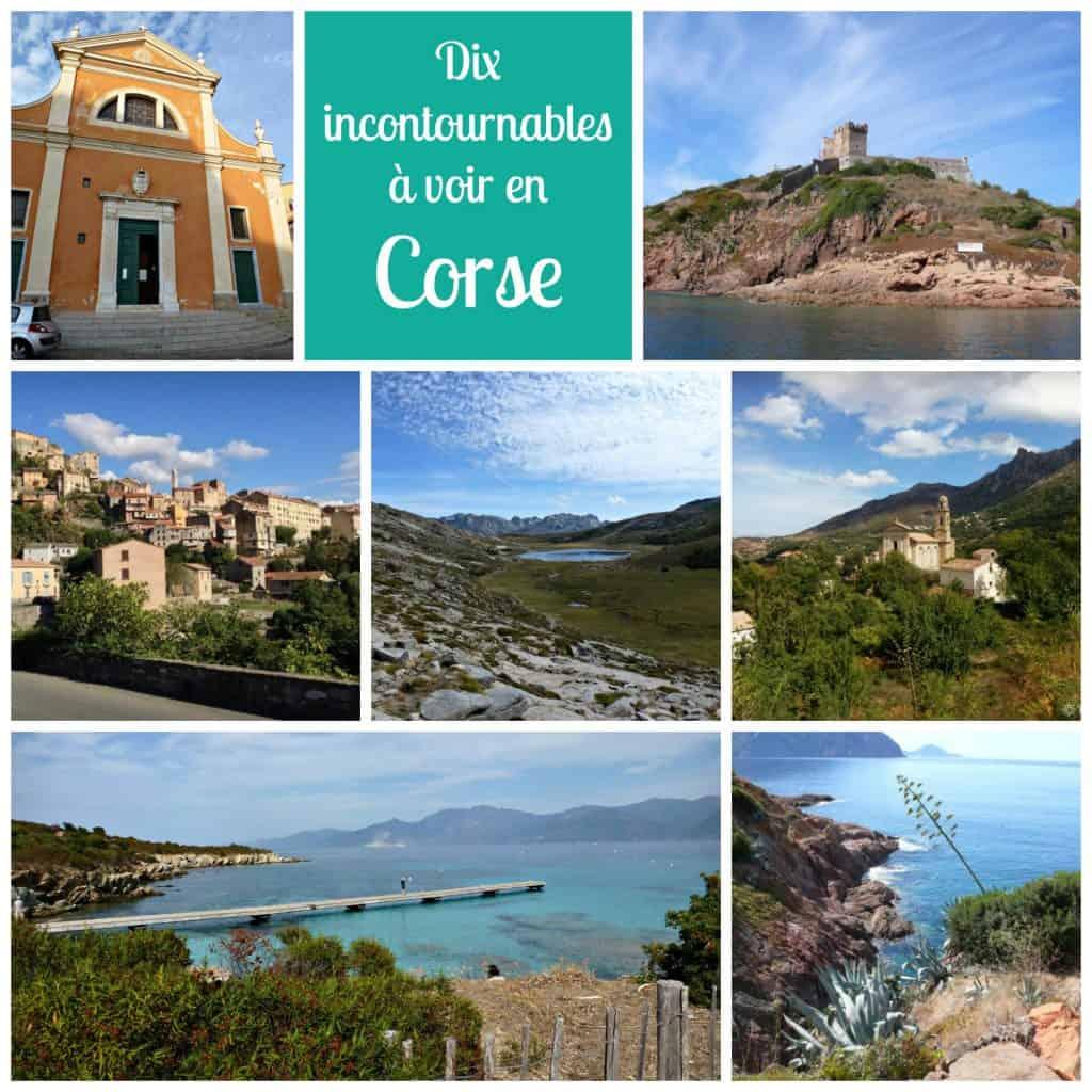 10 incontournbles à voir en Corse
