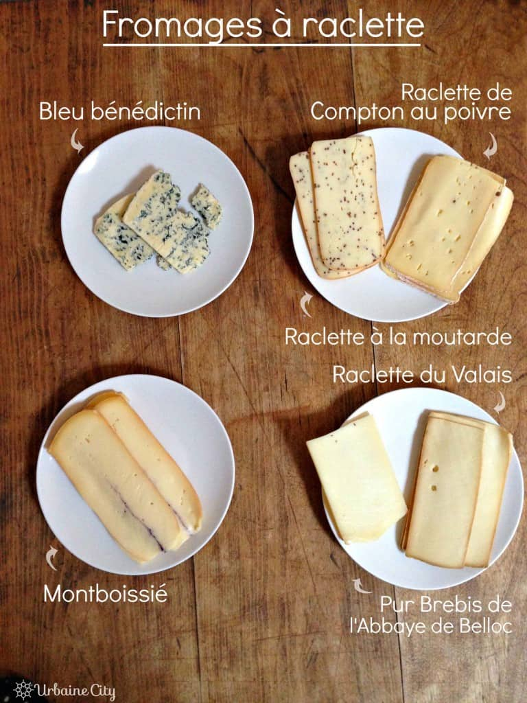 Fromages à raclette