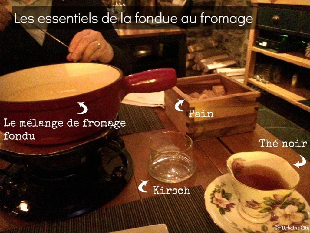 les incontournables de la fondue au fromage