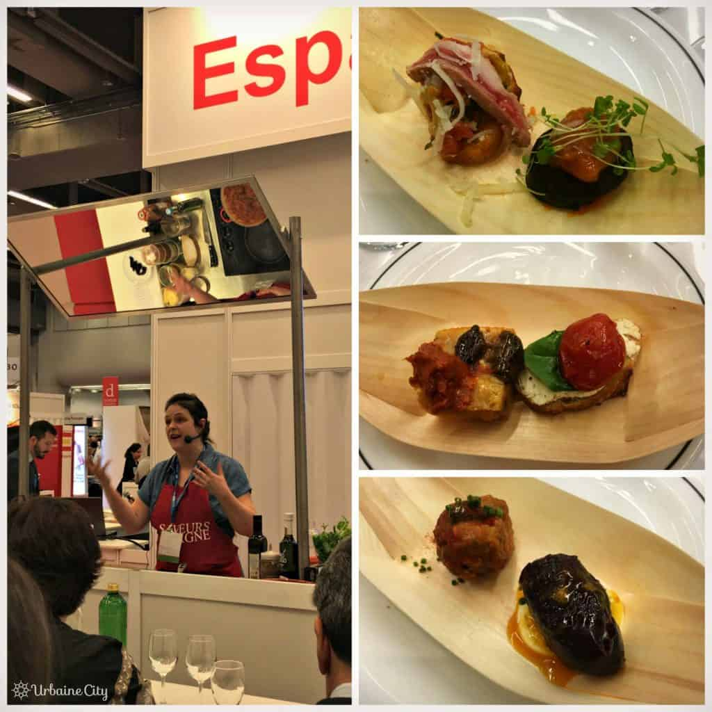 Démonstration culinaire donnée par Marie-Fleur St-Pierre lors du SIAL 2016