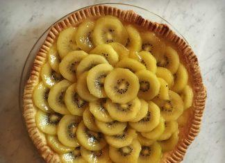 Tarte aux kiwis - Zespri SunGold Kiwifruit