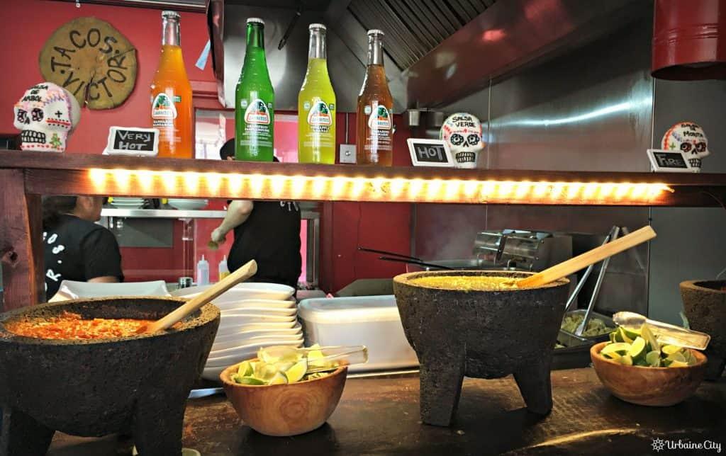 Le bar à salsa - Tacos Victor