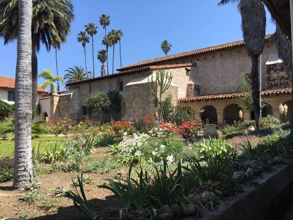 Les jardins de la Mission Santa Barbara