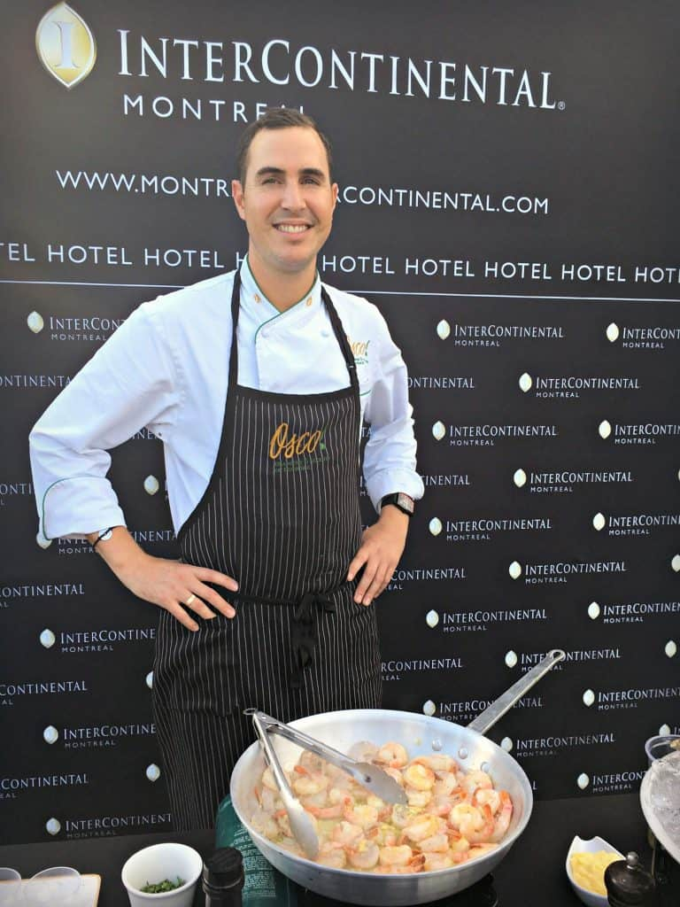 Chef Matthieu Saunier