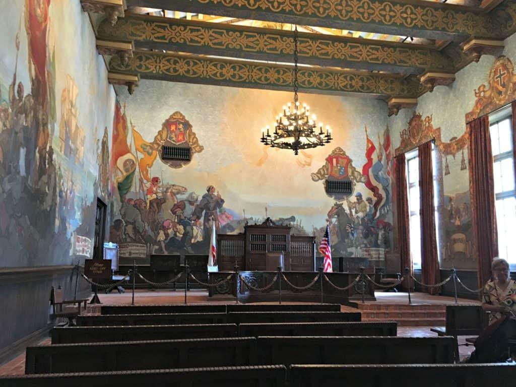 Court House - Intérieur - Santa Barbara