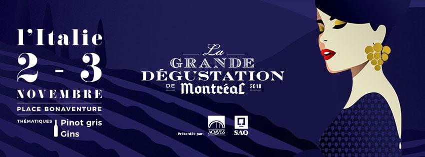 La Grande Dégustation de Montréal 2018