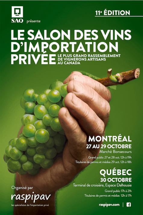 Salon des vins d'importation privée 2018 - Montréal et Québec