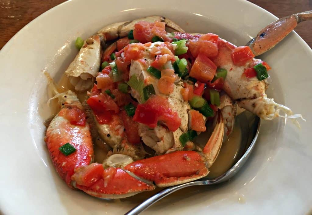 "Crabe ""Wharf's Style"" - Fisherman's Wharf San Francisco"