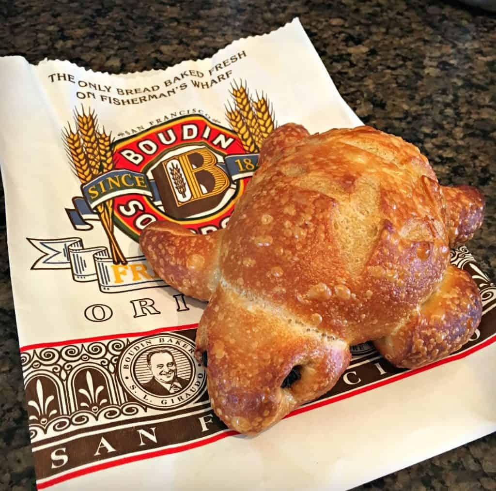 Pain au levain de la Boulangerie Boudin - San Francisco