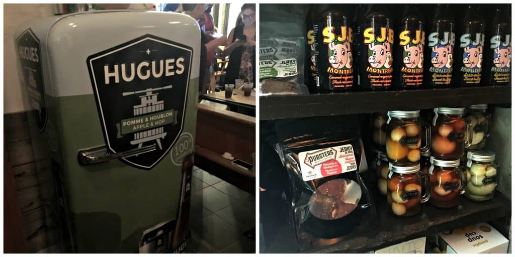 La bière hugue et produits locaux