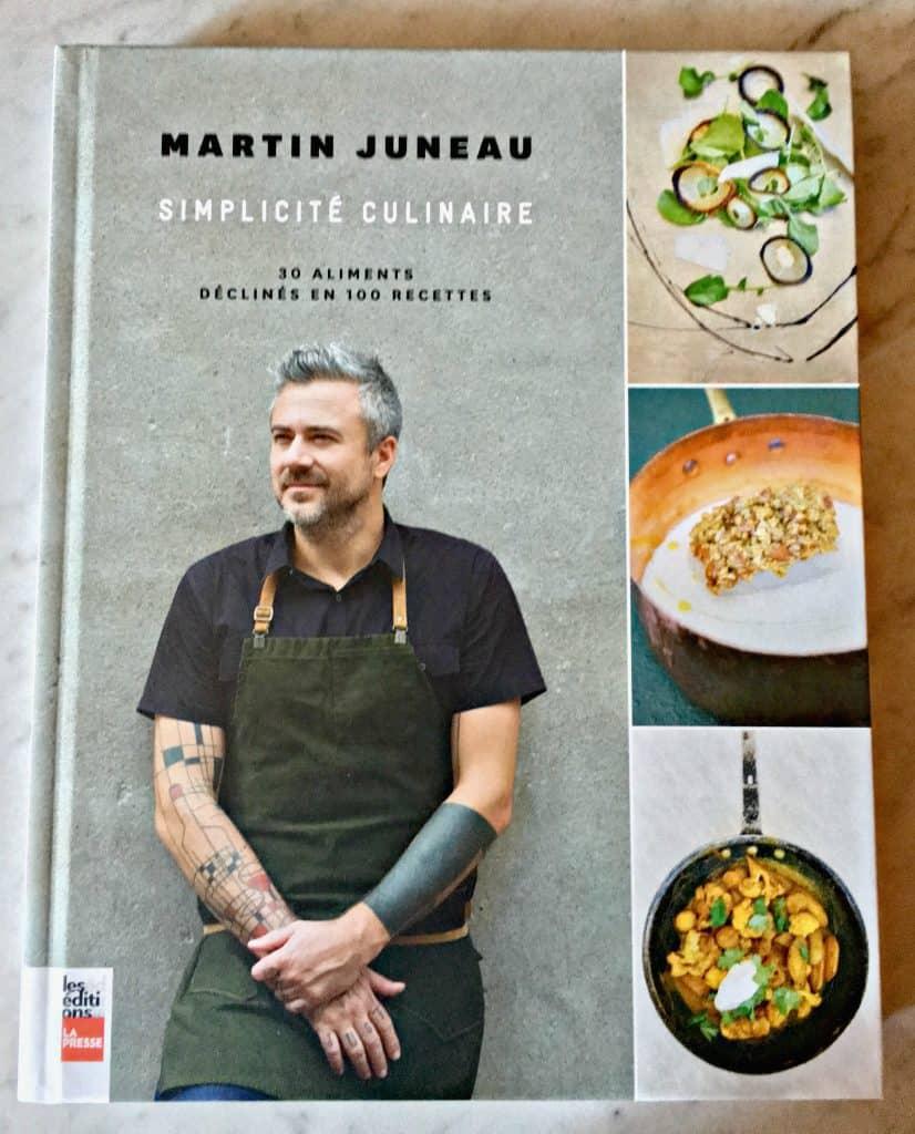 Martin Juneau, Simplicité culinaire