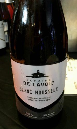 Mousseux Blanc - Domaine Lavoie