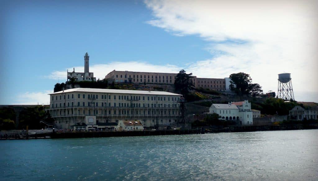 Arrivée à Alcatraz - San Francisco