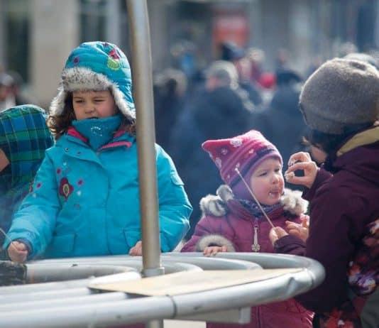 Montréal en Lumière en famille