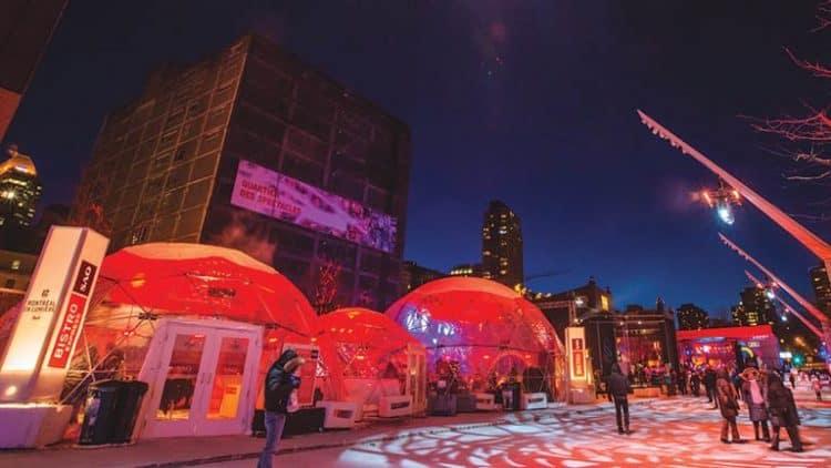 Bistro SAQ - Montréal en Lumière
